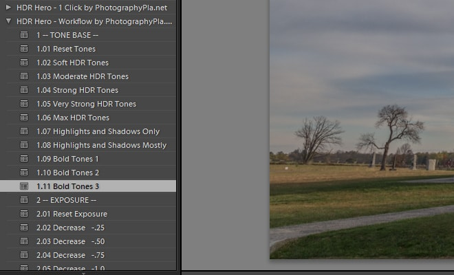 HDR Processing in Lightroom