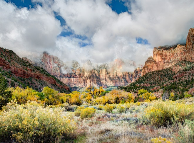 Photographing Zion National Park