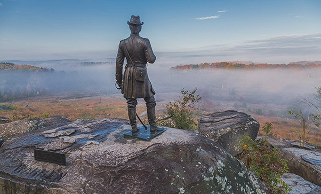 Guide to Photographing the Battlefield at Gettysburg, PA