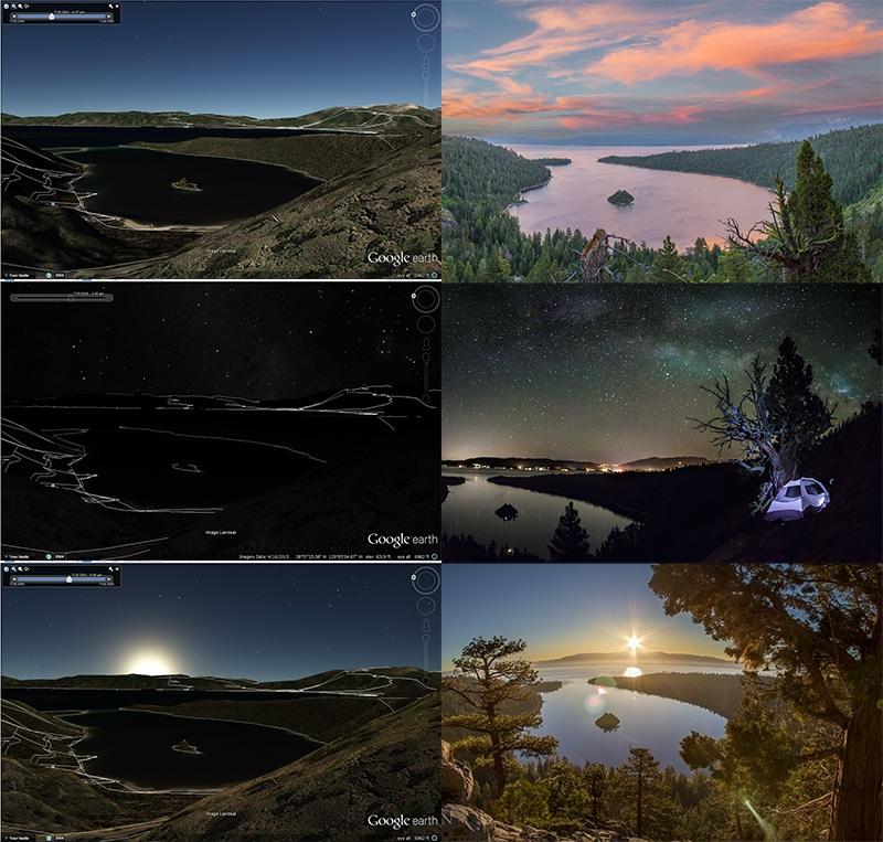 Make A Shot List Google Earth