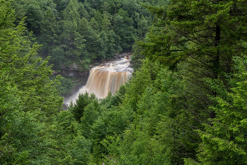 Photographing Blackwater Falls State Park - West Virginia