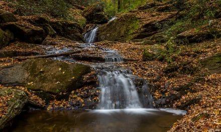 Photographing Mill Creek Falls (Pennsylvania)