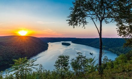 Pinnacle Overlook on the Susquehanna River (Pennsylvania)