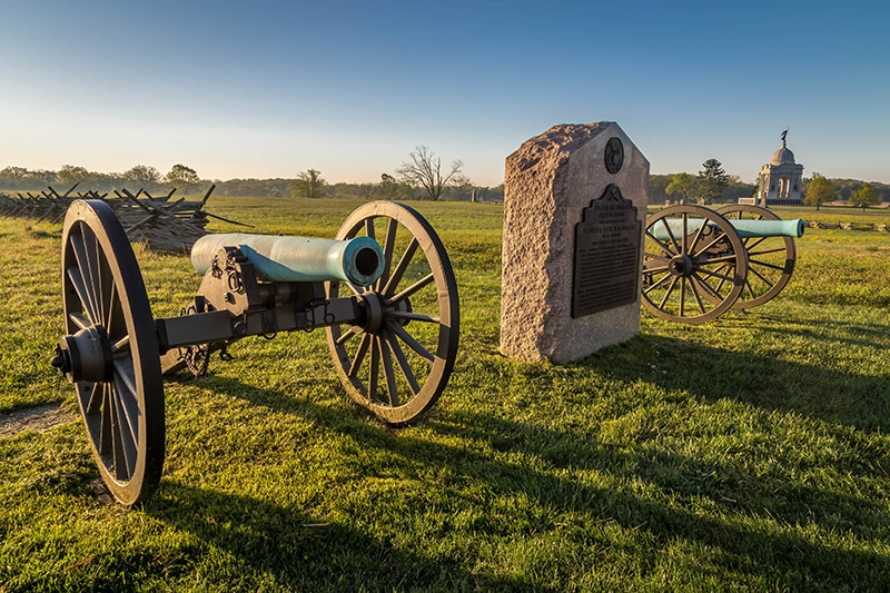 Photo Guide to Gettysburg