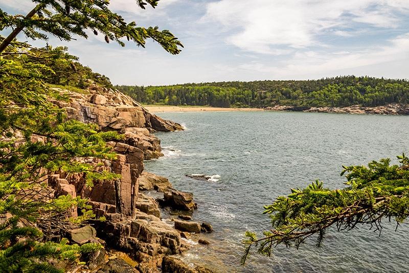 The coast at Acadia National Park